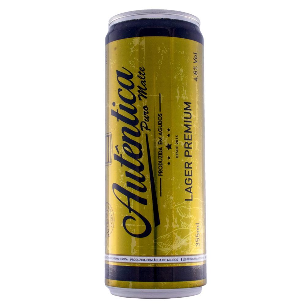Cerveja Autêntica - Lager Premium