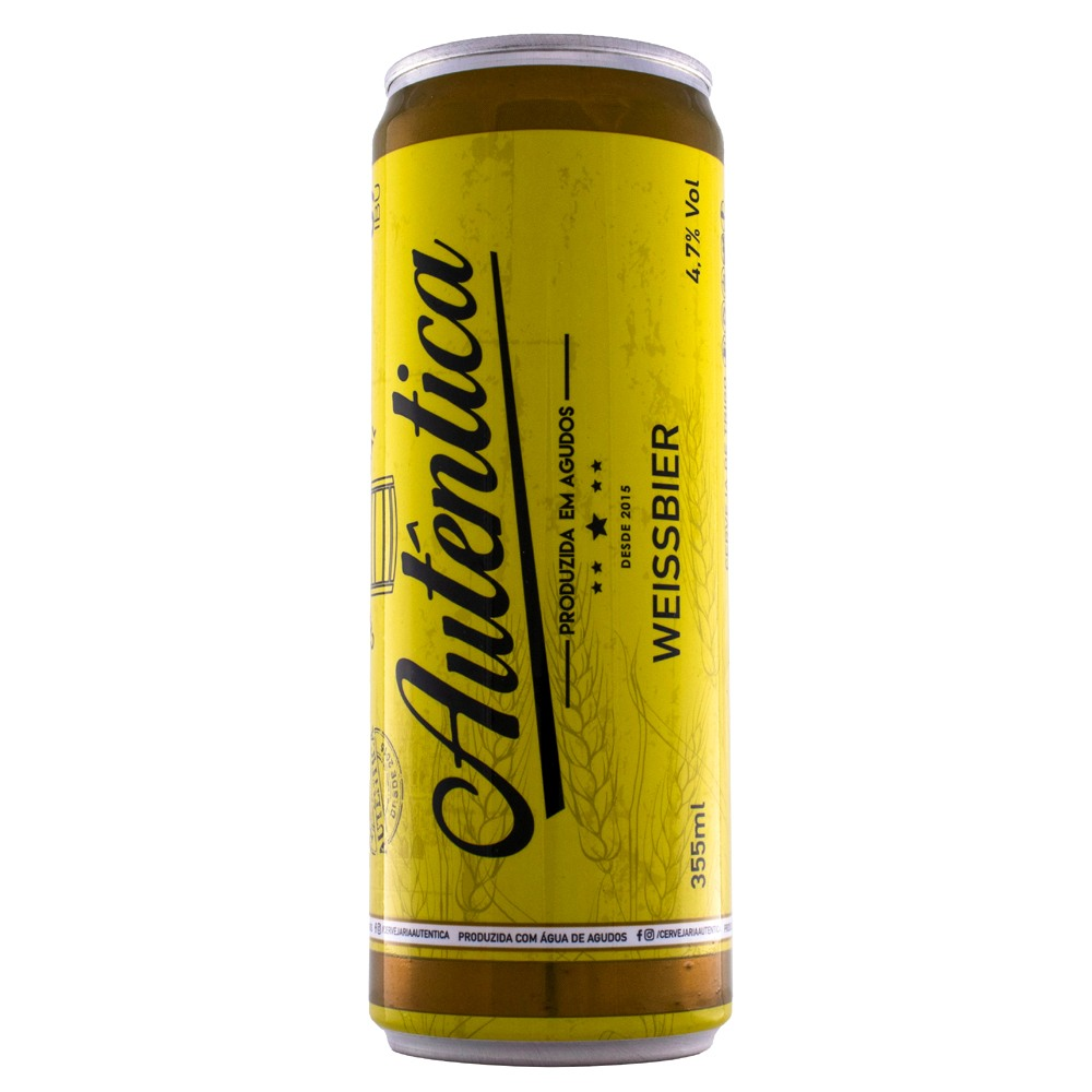 Cerveja Autêntica - Weissbier